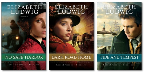 The Edge of Freedom Series by Elizabeth Ludwig