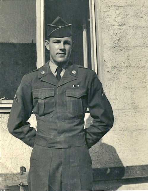 Reginald Reynolds, my wonderful daddy.  He served in Germany in the Korean War.