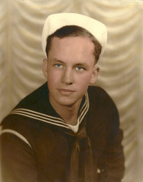 Felix McElory, my husband's wonderful uncle, who served in Saipan in WWII.